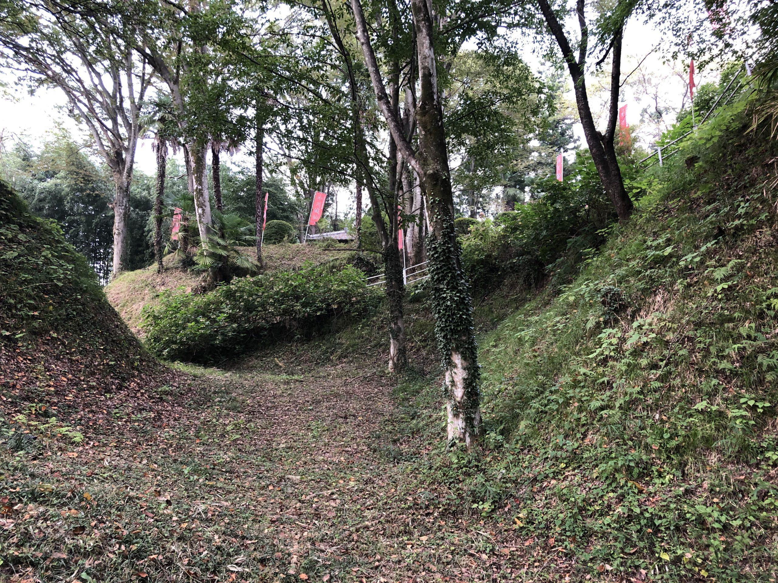 城ぶら「小川城」!戦国期の群雄割拠、真田昌幸が手に入れた城